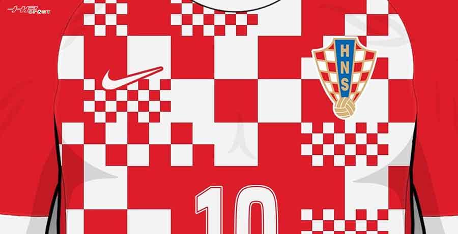 Ra mắt mẫu áo đấu tuyển Croatia Euro 2021 sân nhà Nike thiết kế