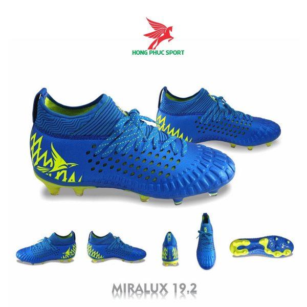 Giày đá bóng cổ cao Mira Lux 19.2 xanh dương