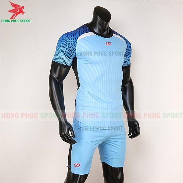 áo bóng đá không logo CP Nova xanh biển 4