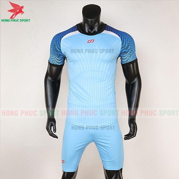 áo bóng đá không logo CP Nova xanh biển