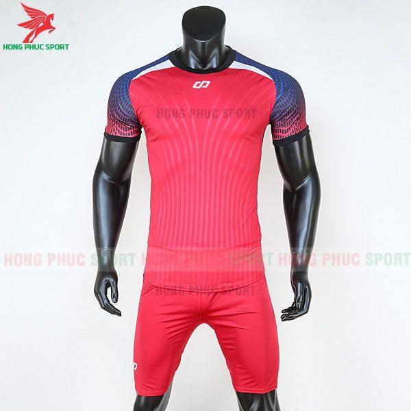 áo bóng đá không logo CP Nova đỏ
