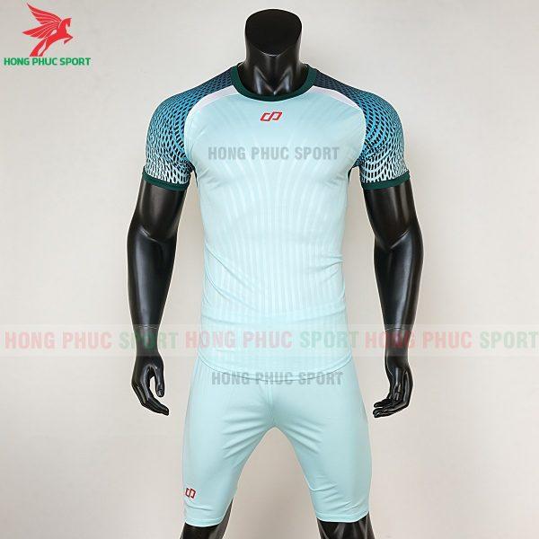áo bóng đá không logo CP Nova xanh ngọc