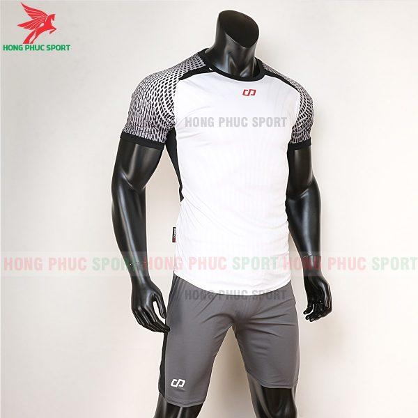 áo bóng đá không logo CP Nova trắng 5