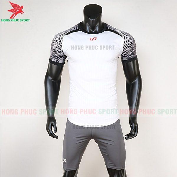 áo bóng đá không logo CP Nova trắng 1
