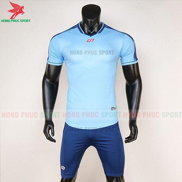áo bóng đá không logo CP Otis xanh biển 1