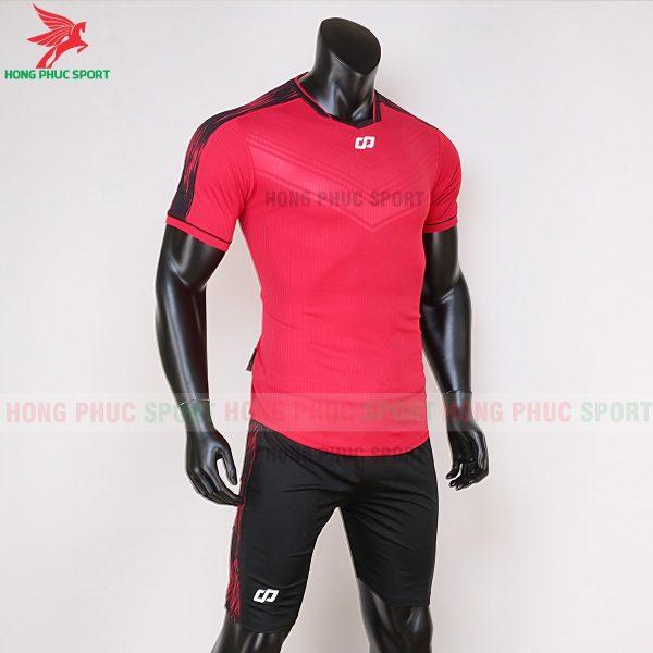 áo bóng đá không logo CP Otis màu đỏ 3