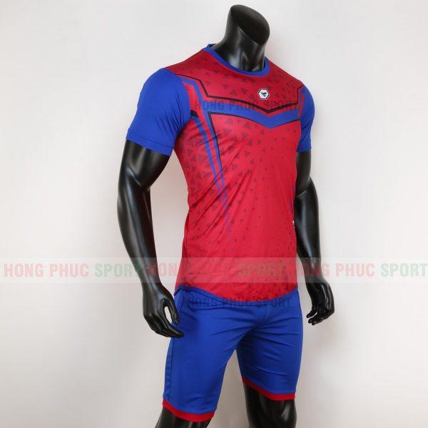 Áo bóng đá không logo mutanst màu đỏ 1