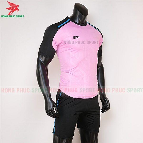 Áo bóng đá không logo Riki Shaman hồng 5