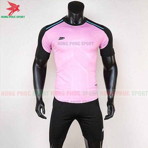 Áo bóng đá không logo Riki Shaman hồng 1
