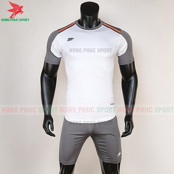 Áo bóng đá không logo Riki Shaman trắng