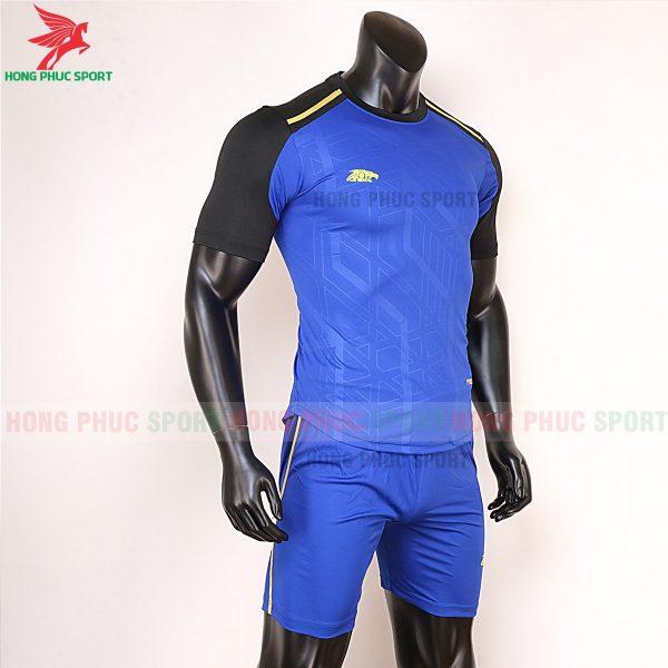 Áo bóng đá không logo Riki Shaman xanh bích 4