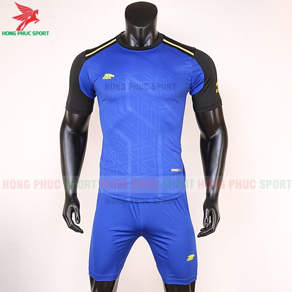 Áo bóng đá không logo Riki Shaman xanh bích