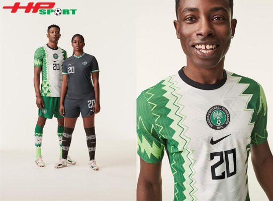 áo bóng đá tuyển Nigeria 2020 1