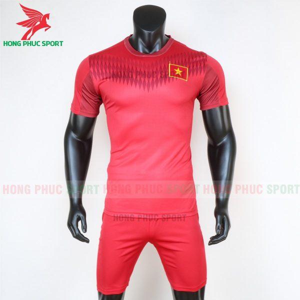 áo đấu tập đội tuyển Việt Nam 2020 màu đỏ 1