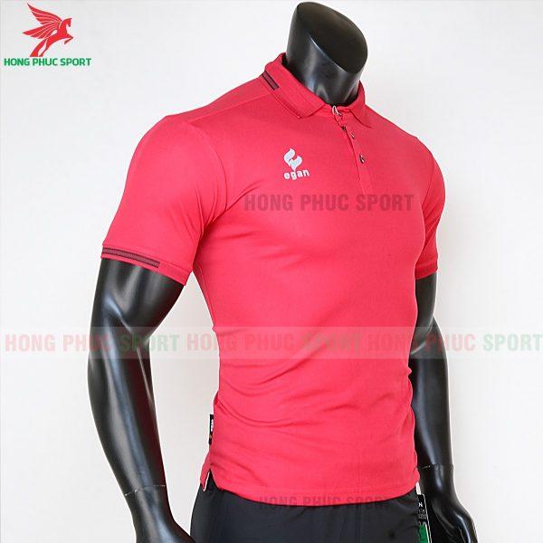 áo di chuyển bóng đá polo UV Egan màu đỏ 5