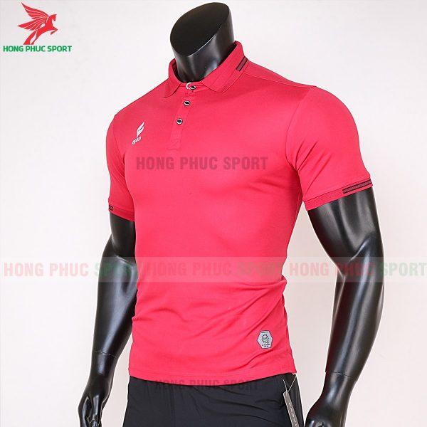 áo di chuyển bóng đá polo UV Egan màu đỏ 2