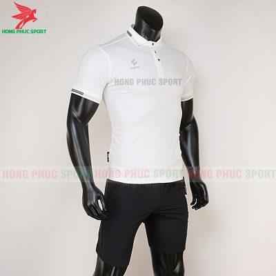 áo di chuyển bóng đá polo UV Egan trắng 4