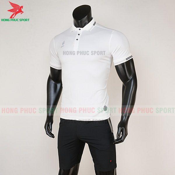 áo di chuyển bóng đá polo UV Egan trắng 3