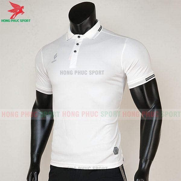 áo di chuyển bóng đá polo UV Egan trắng 2