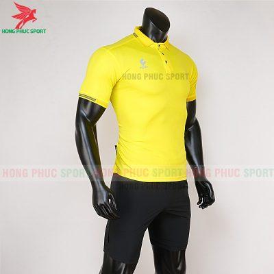 áo di chuyển bóng đá polo UV Egan vàng 4