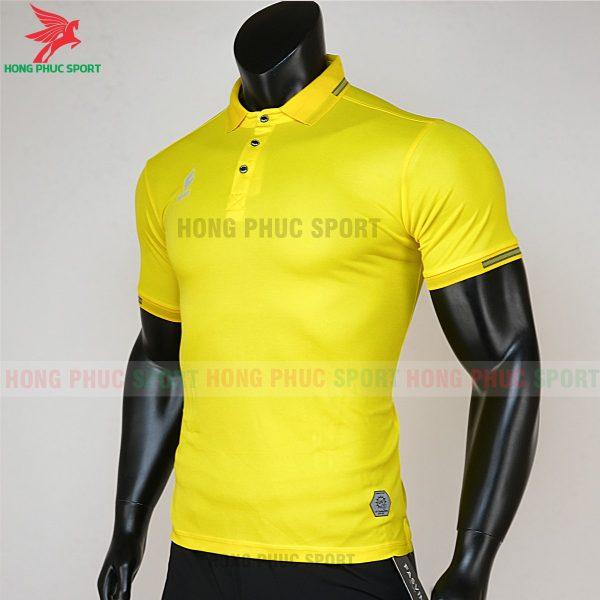 áo di chuyển bóng đá polo UV Egan vàng 2