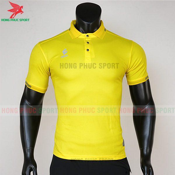 áo di chuyển bóng đá polo UV Egan vàng 1