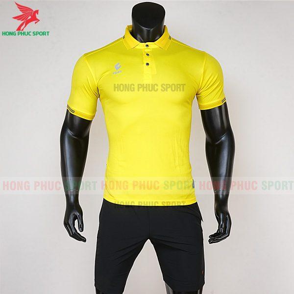 áo di chuyển bóng đá polo UV Egan vàng