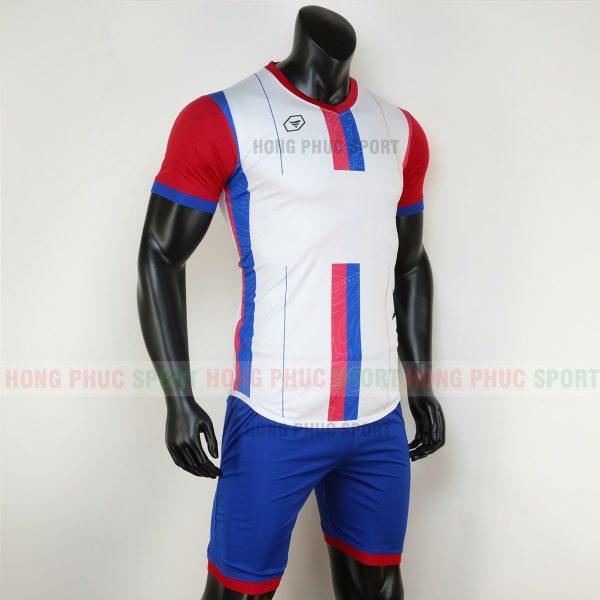 Áo bóng đá không logo forest màu trắng 2