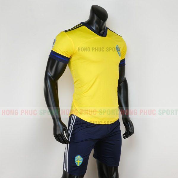 áo thụy điển Euro 2020 thun lạnh 2