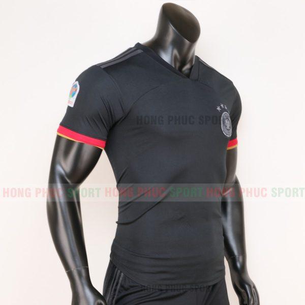 áo tuyển Đức sân khách euro 2020 màu đen 1