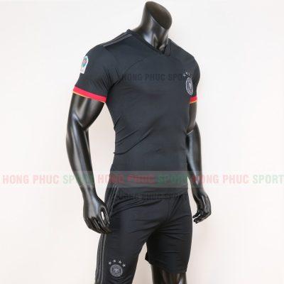áo tuyển Đức sân khách euro 2020 màu đen 2
