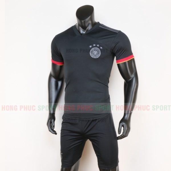 áo tuyển Đức sân khách euro 2020 màu đen 3