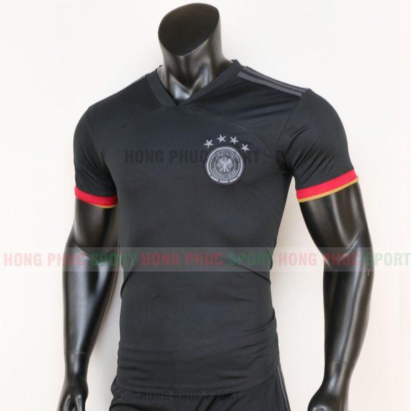 áo tuyển Đức sân khách euro 2020 màu đen 4