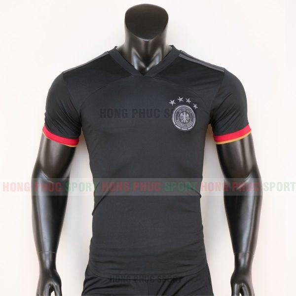 áo tuyển Đức sân khách euro 2020 màu đen 5