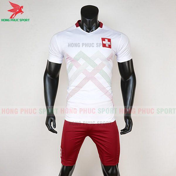 áo bóng đá tuyển Thụy Sĩ Euro 2020 sân nhà