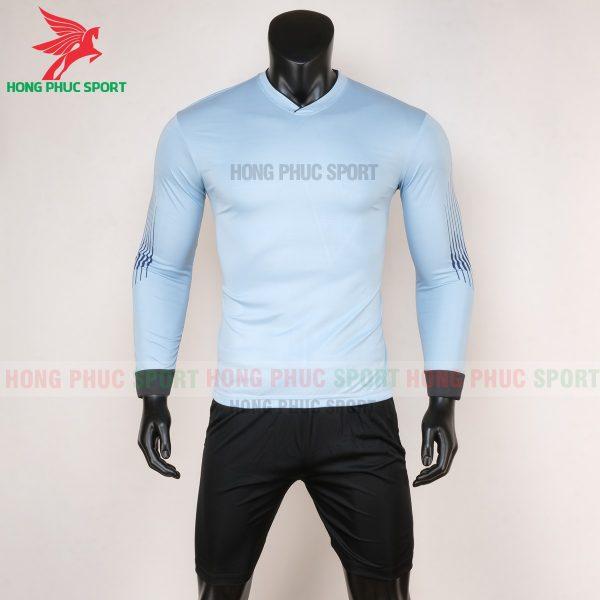 Áo thủ môn tay dài 2020 màu xanh ghi
