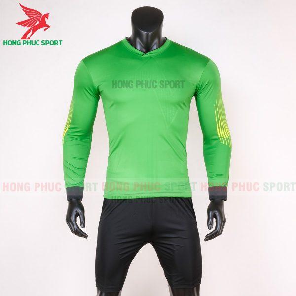 Áo thủ môn tay dài 2020 màu xanh lá cây 1