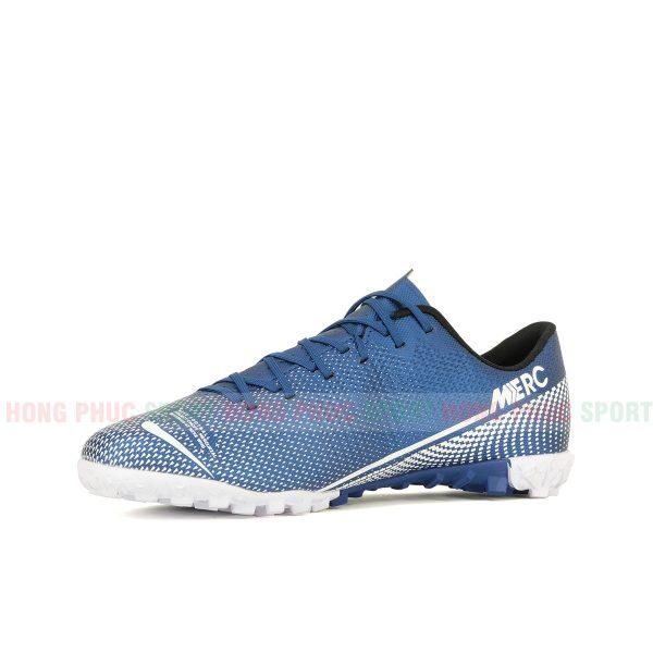 Giày bóng đá Mercurial Vapor 13 màu trắng xanh dương 3