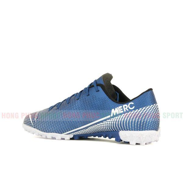 Giày bóng đá Mercurial Vapor 13 màu trắng xanh dương 2