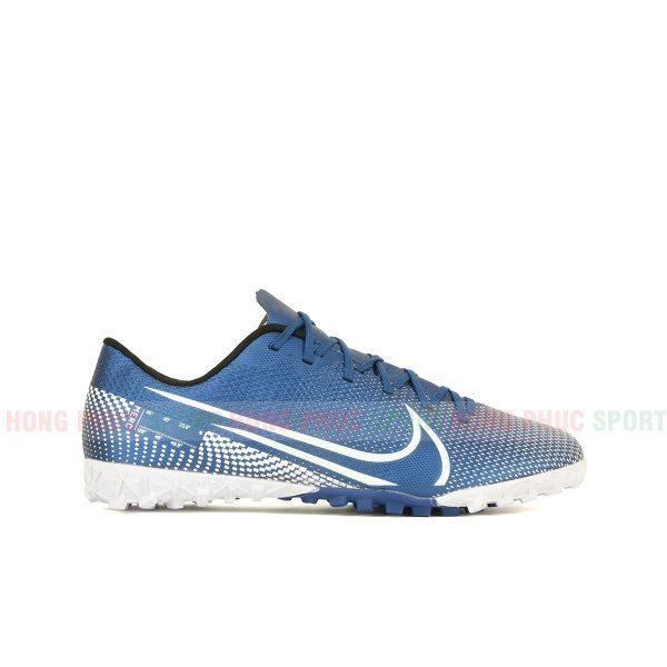 Giày bóng đá Mercurial Vapor 13 màu trắng xanh dương 1