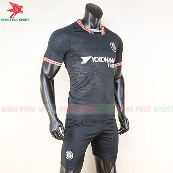 Áo bóng đá Chelsea 2020 sân khách màu đen 5