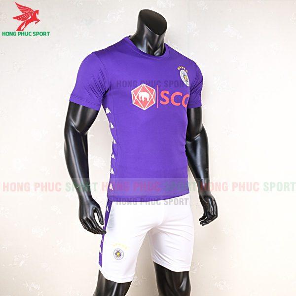 Áo bóng đá Hà Nội FC màu tím 4