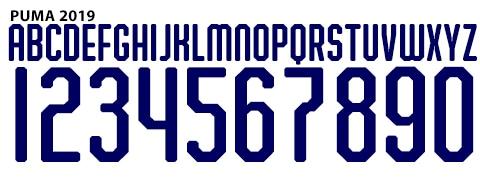 Tổng hợp Font Puma ĐẸP qua từng năm: Chữ - số