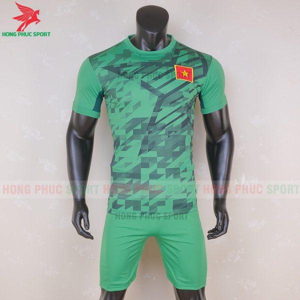 Áo bóng đá tuyển Việt Nam 2020 thủ môn 6-Hàng thun lạnh