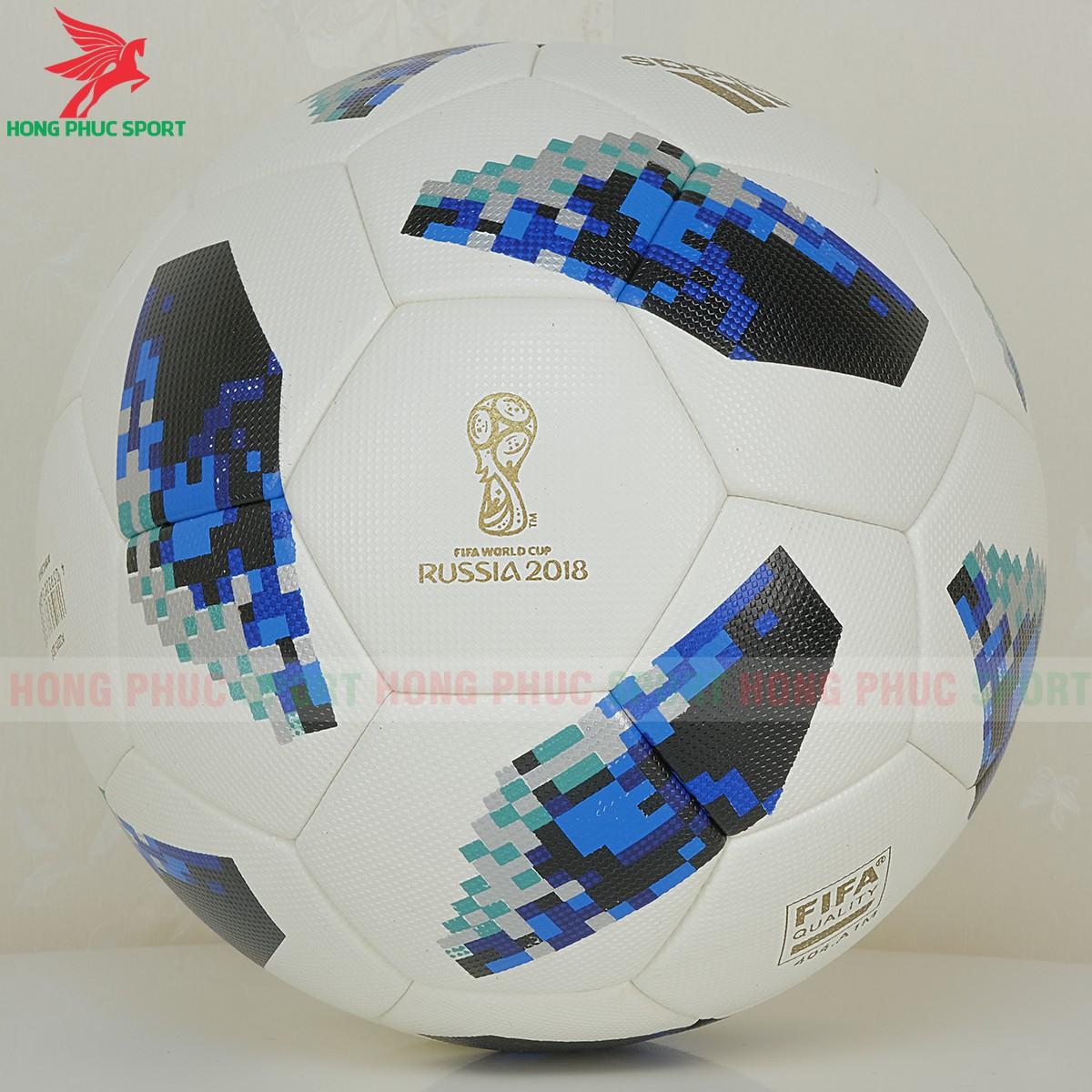 Quả bóng đá World Cup 2018 Telstar 18 màu xanh