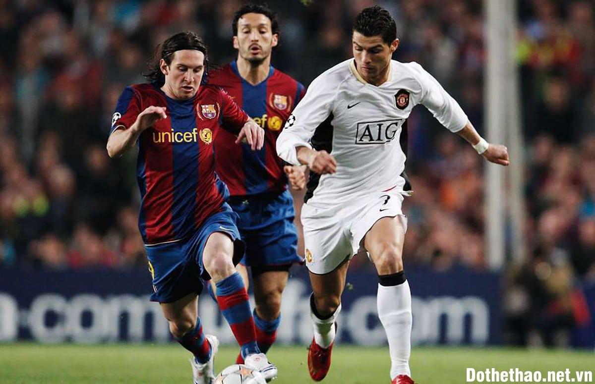 Ronaldo vs Messi cuộc gặp gỡ định mệnh 2007/2008
